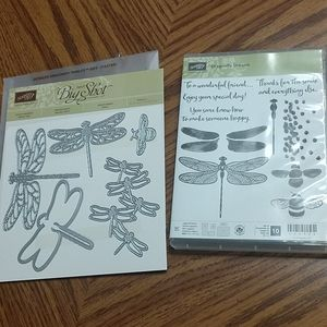 Stampin' Up Dragonfly Dreams & Dies